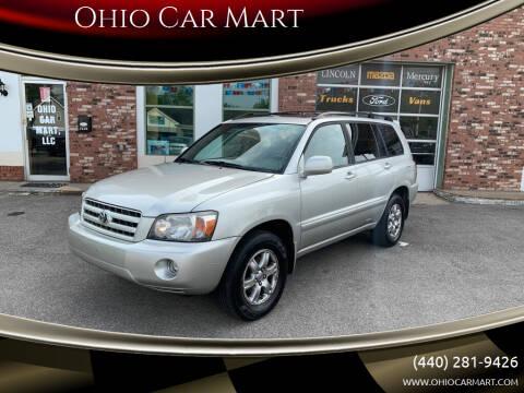 2006 Toyota Highlander for sale at Ohio Car Mart in Elyria OH