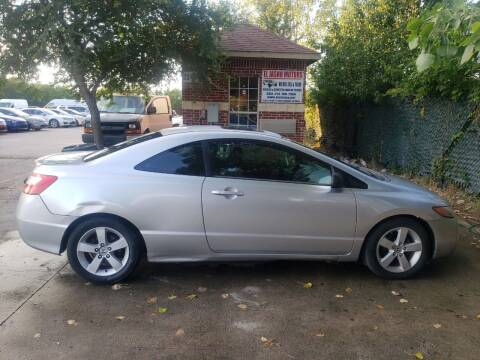 2006 Honda Civic for sale at El Jasho Motors in Grand Prairie TX