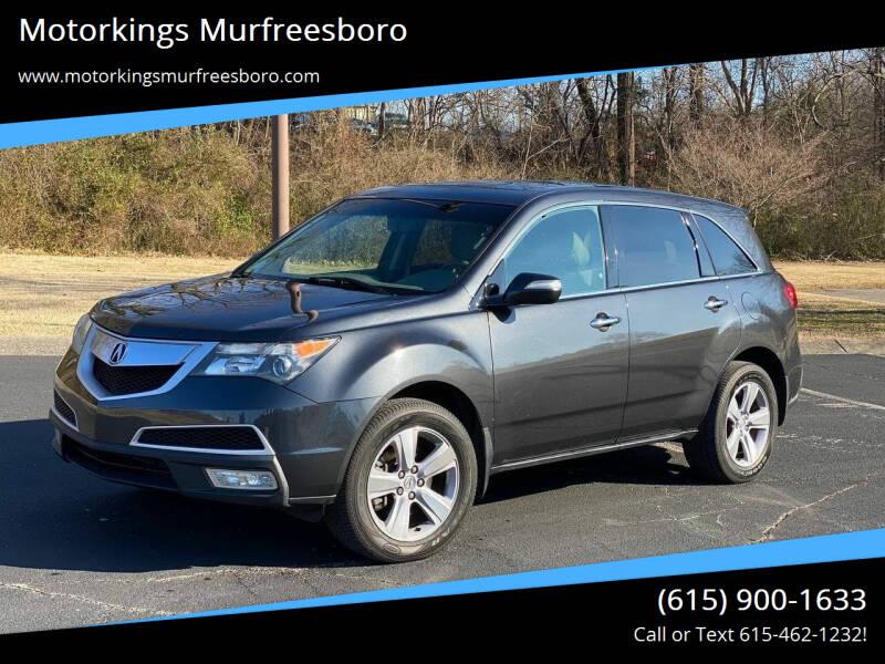 2013 Acura MDX for sale at Motorkings Murfreesboro in Murfreesboro TN