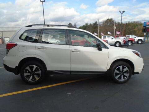 2018 Subaru Forester for sale at Rogos Auto Sales in Brockway PA