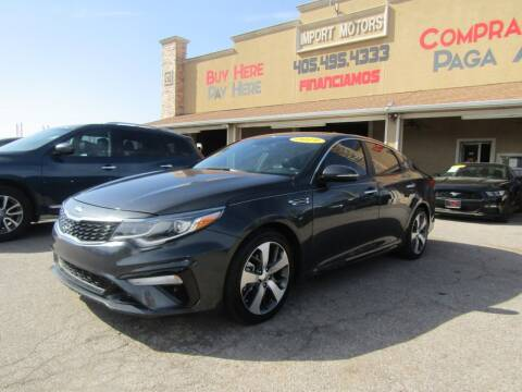2019 Kia Optima for sale at Import Motors in Bethany OK