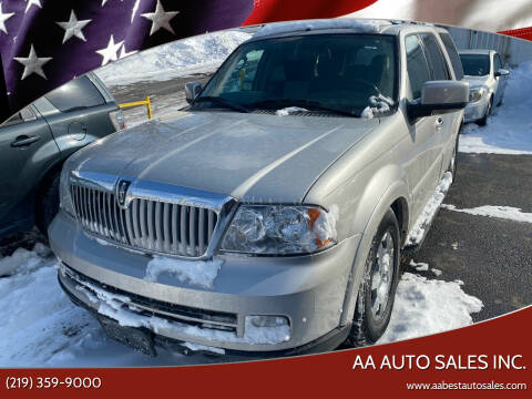 2006 Lincoln Navigator for sale at AA Auto Sales Inc. in Gary IN