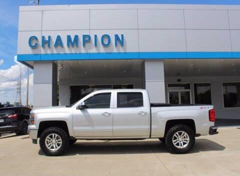 2015 Chevrolet Silverado 1500 for sale at Champion Chevrolet in Athens AL