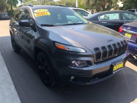 2018 Jeep Cherokee for sale at Devine Auto Sales in Modesto CA