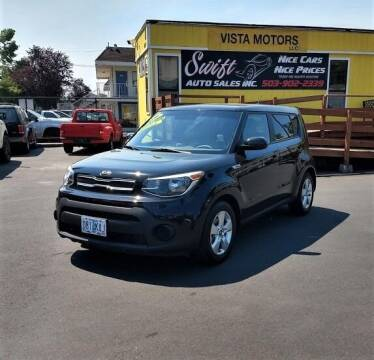 2017 Kia Soul for sale at SWIFT AUTO SALES INC in Salem OR