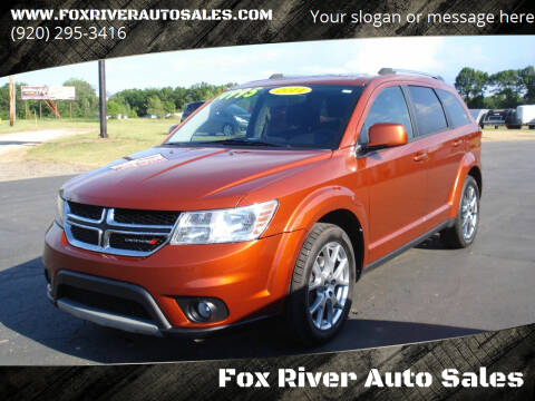 2014 Dodge Journey for sale at Fox River Auto Sales in Princeton WI