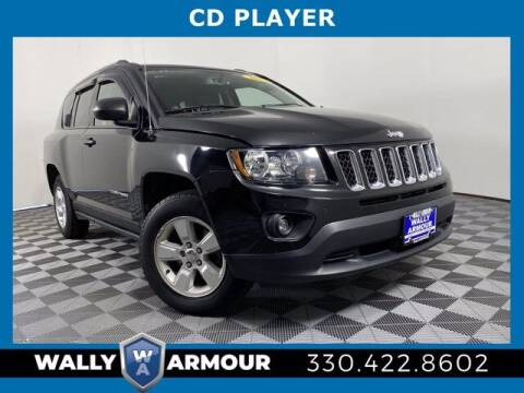 2017 Jeep Compass for sale at Wally Armour Chrysler Dodge Jeep Ram in Alliance OH