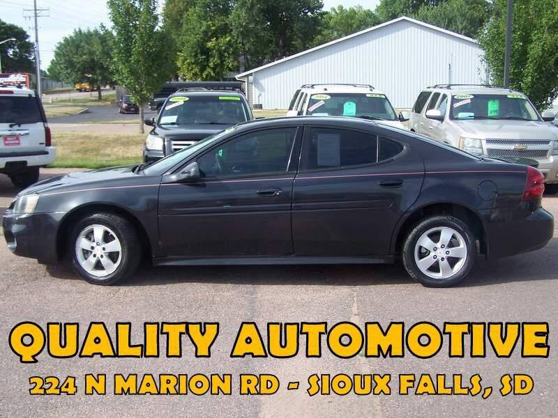 2008 Pontiac Grand Prix for sale at Quality Automotive in Sioux Falls SD