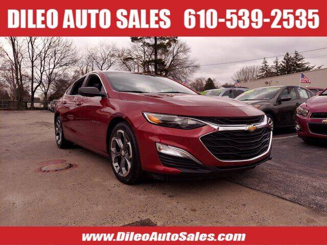 2019 Chevrolet Malibu for sale at Dileo Auto Sales in Norristown PA