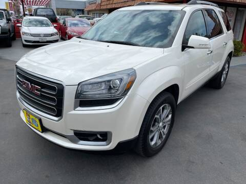 2014 GMC Acadia for sale at CARSTER in Huntington Beach CA