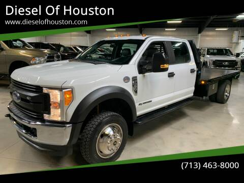 2017 Ford F-550 Super Duty for sale at Diesel Of Houston in Houston TX