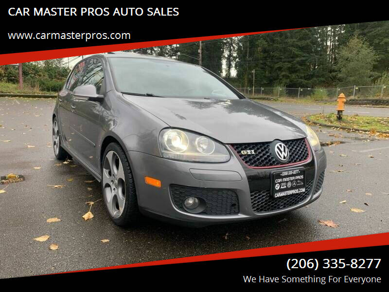 2008 Volkswagen GTI for sale at CAR MASTER PROS AUTO SALES in Lynnwood WA