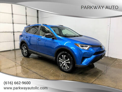 2017 Toyota RAV4 for sale at PARKWAY AUTO in Hudsonville MI