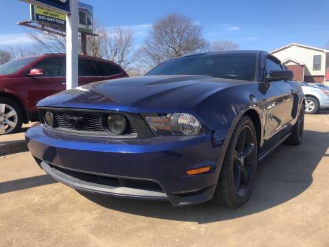 2010 Ford Mustang for sale at Wolff Auto Sales in Clarksville TN