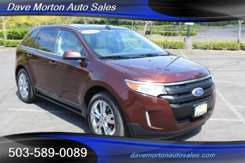 2012 Ford Edge for sale at Dave Morton Auto Sales in Salem OR