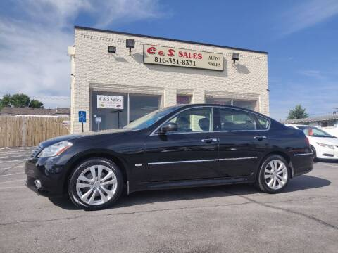 2008 Infiniti M35 for sale at C & S SALES in Belton MO