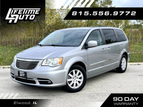 2016 Chrysler Town and Country for sale at Lifetime Auto in Elwood IL