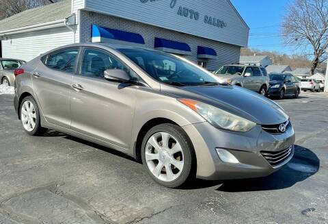 2011 Hyundai Elantra for sale at FAMILY AUTO SALES, INC. in Johnston RI