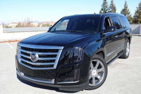 2015 Cadillac Escalade ESV for sale at BAY AREA CAR SALES 2 in San Jose CA