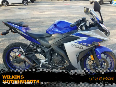 2015 Yamaha YZF-R3 for sale at WILKINS MOTORSPORTS in Brewster NY