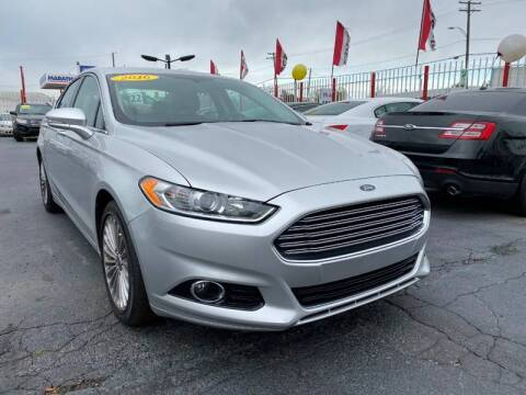 2016 Ford Fusion for sale at NUMBER 1 CAR COMPANY in Warren MI