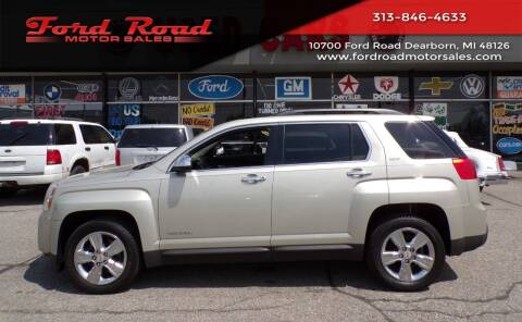 2015 GMC Terrain for sale at Ford Road Motor Sales in Dearborn MI