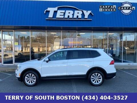 2018 Volkswagen Tiguan for sale at Terry of South Boston in South Boston VA