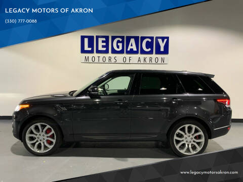 2014 Land Rover Range Rover Sport for sale at LEGACY MOTORS OF AKRON in Akron OH