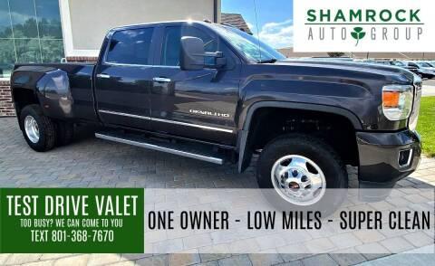 2015 GMC Sierra 3500HD for sale at Shamrock Group LLC #1 in Pleasant Grove UT