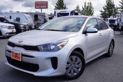 2019 Kia Rio for sale at Frontier Auto & RV Sales in Anchorage AK