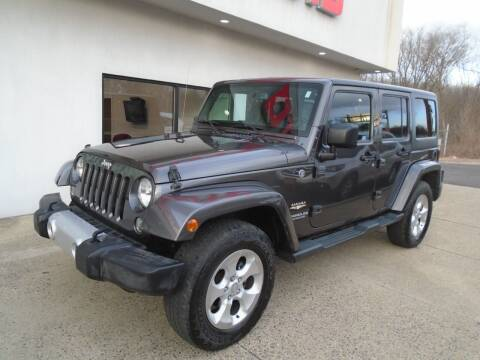2014 Jeep Wrangler Unlimited for sale at Island Auto Buyers in West Babylon NY