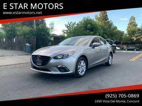 2016 Mazda MAZDA3 for sale at E STAR MOTORS in Concord CA