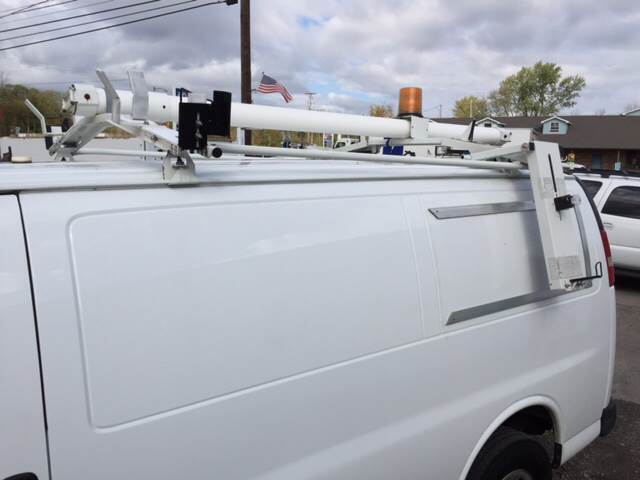 2011 WEATHER GUARD DOUBLE  DROP DOWN LADDER RACK for sale at ACE HARDWARE OF ELLSWORTH dba ACE EQUIPMENT in Canfield OH