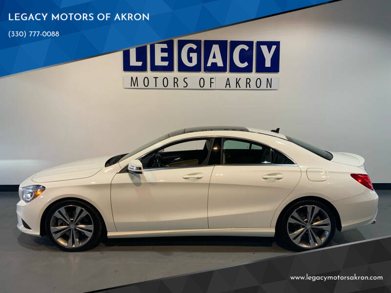 2014 Mercedes-Benz CLA for sale at LEGACY MOTORS OF AKRON in Akron OH