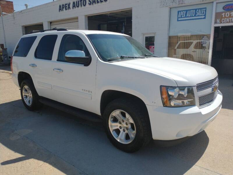 2010 Chevrolet Tahoe for sale at Apex Auto Sales in Coldwater KS