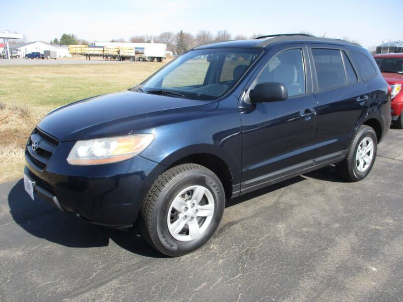 2009 Hyundai Santa Fe for sale at KAISER AUTO SALES in Spencer WI