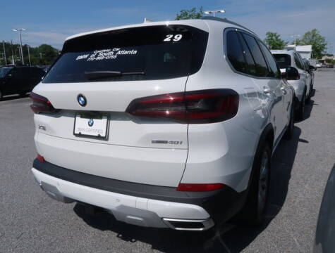 2021 BMW X5 for sale at Southern Auto Solutions - BMW of South Atlanta in Marietta GA