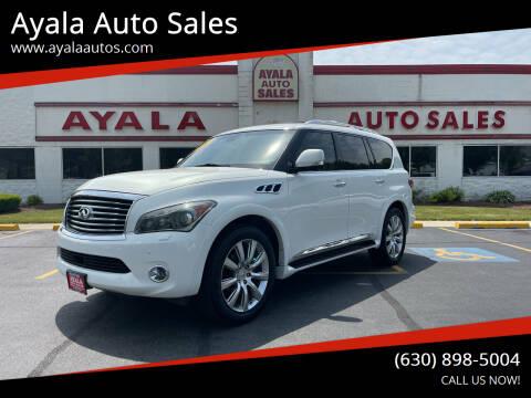 2011 Infiniti QX56 for sale at Ayala Auto Sales in Aurora IL