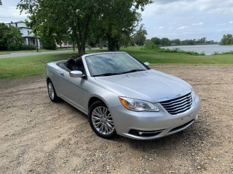 2011 Chrysler 200 Convertible for sale at Ace's Auto Sales in Westville NJ