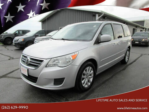 2012 Volkswagen Routan for sale at Lifetime Auto Sales and Service in West Bend WI