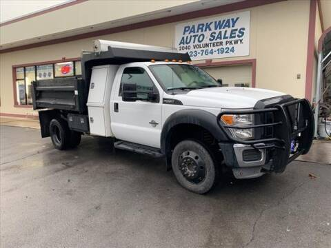 2012 Ford F-550 Super Duty for sale at PARKWAY AUTO SALES OF BRISTOL in Bristol TN