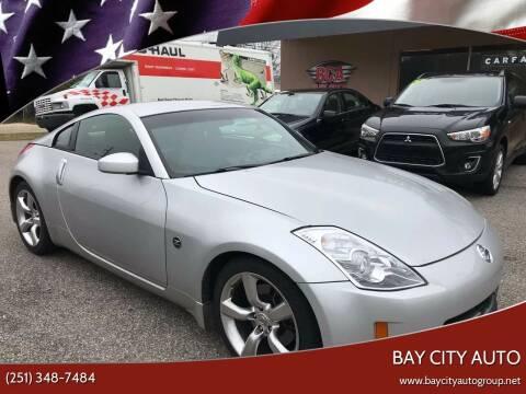 2008 Nissan 350Z for sale at Bay City Auto's in Mobile AL
