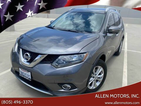 2015 Nissan Rogue for sale at Allen Motors, Inc. in Thousand Oaks CA