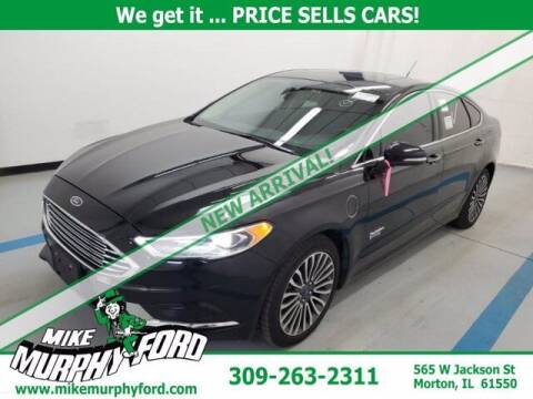 2018 Ford Fusion Energi for sale at Mike Murphy Ford in Morton IL