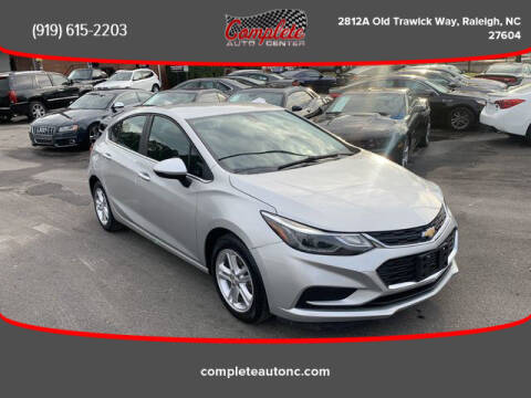 2017 Chevrolet Cruze for sale at Complete Auto Center , Inc in Raleigh NC