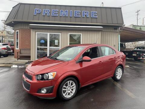 2015 Chevrolet Sonic for sale at Premiere Auto Sales in Washington PA