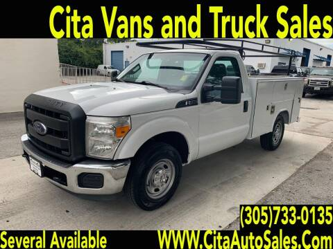 2015 Ford F250   UTILITY TRUCK for sale at Cita Auto Sales in Medley FL