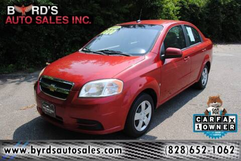 2009 Chevrolet Aveo for sale at Byrds Auto Sales in Marion NC