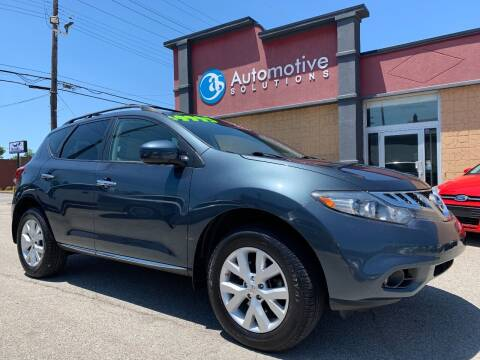 2014 Nissan Murano for sale at Automotive Solutions in Louisville KY