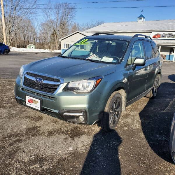2017 Subaru Forester for sale at ALL WHEELS DRIVEN in Wellsboro PA